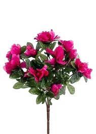 best outdoor artificial hanging baskets fuchsia pink azalea faux flower bush flowers silk plants