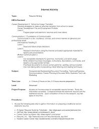 Resume Of Activities For College Template Oneswordnet