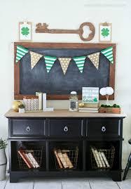 st pattys day home office decor. St. Patrick\u0027s Day Wood Banner St Pattys Home Office Decor