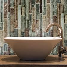 Allen Roth Shimmering Lights Shop Allen Roth Glass Mosaic Shimmering Lights Mosaic Wall