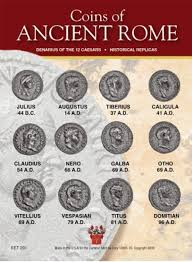 Twelve Caesars Coins Of Ancient Rome The Twelve Caesars Museum Gift Shop Historic