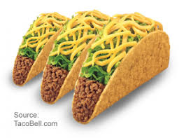 taco bell tacos png. Beautiful Taco 3 Crunchy Tacos With Taco Bell Png C