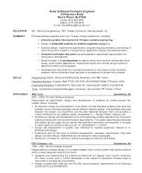 Best Resume Software Software Engineering Resume Sample Software Developer Resume Best 15