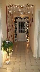 Weihnachtsdeko äste Ast Christbaumkugeln Lichterketten