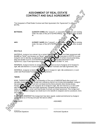 Assignment Of Contract Real Estate Contract Assignment Research Paper Help Wopaperuzhy 17