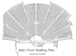 Ryman Seating Chart With Seat Numbers Ryman Auditorium Seating Plan