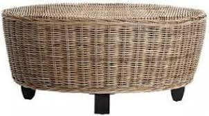 permalink to awesome rattan coffee table ottoman sample design
