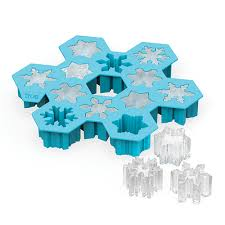 Decorative Ice Cube Trays Snowflake Silicone Ice Cube Tray TrueZoo by True Fabrications 7
