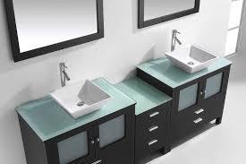 90 Bathroom Vanity Brentford 90 Double Bathroom Vanity Cabinet Set Virtu Usa