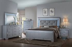 lighting bed. Lillian Queen/King Bedroom Set - B7100 Crown Mark LED Lighting Bed L