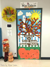 classroom door decorations for fall. Contemporary For Classroom Door Decorating Ideas Fall Decorations Magnificent  For With Simple   In Classroom Door Decorations For Fall O