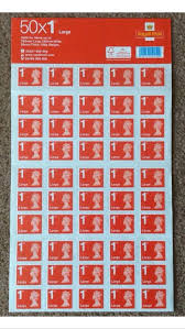 Used Royal Mail Large Letter First Class Stamp 50 In Le2