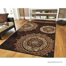 cream area rug in dining room large contemporary rugs modern living black furniture appealing brown beige