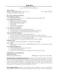 Best Resume Software Best Resume Format For Software Developer Sales Developer Lewesmr 50