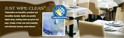 wipe off tablecloths choose from standard sizes or hospitality industry customers here to custom order your just wipe tablecloths today wipe easy