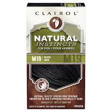 Natural Instincts Creme Color Chart Clairol Natural Instincts For Men Hair Color M19 Black