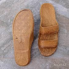 Light Brown Jandals Golden Brown Classic Jandals Pali Hawaii Sandals