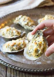 Three-Cheese Baked Oysters Recipe - A ...