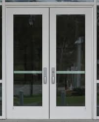 aluminum entrance doors