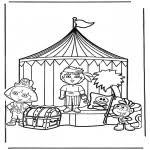 Kleurplaat Dora Kinderkleurplaten