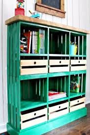 love these diy shelves made out of old crates see more diy crate furniture ideas