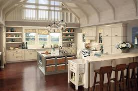 kitchen cool cone white pendant lighting kitchen design ideas with brown striped wood floor and