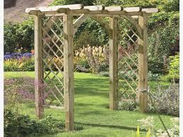 design ideas wooden garden arch new sy square top wooden garden rose arch pergola westmount