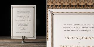 art deco wedding invitation. 20 decadently art deco wedding invitations invitation