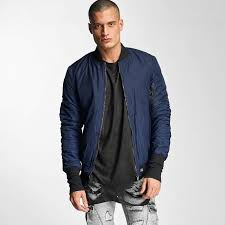 sixth june jacket er padded in blue men sixth june leather jackets official supplier