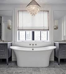 bathtub with chandelier master bathroom ideas
