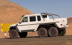 Mercedes-Benz G63 AMG 6×6 to Cost $600,000 in Germany Photo ...