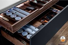 Kitchen Drawer Organization Rutt Handcrafted Cabinetry A Drawers
