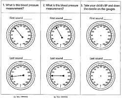 Pediatric Blood Pressure Chart Blood Pressure Measurement