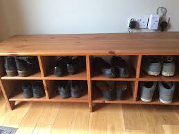 Ikea Leksvik Shoe Rack Storage Bench
