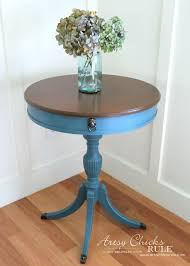 french round side table makeover