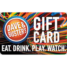 Dave And Busters $25 : Target - Gift Cards