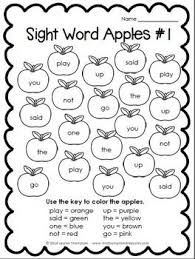 e2510ef941fba85f669b7dc2cf2f7fe0 apple activities literacy activities 25 best ideas about kindergarten sight word worksheets on on sight words handwriting worksheets