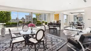 Anthony Warbrick's penthouse apartment at 3501/70 Market Street, Sydney,  sits atop Swissotel