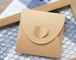 Cd Paper Case 50pcs Lot Heart Kraft Cd Paper Case Blank Kraft Envelopes Natural