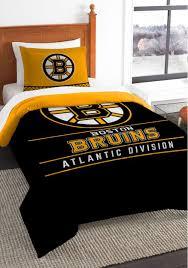 boston bruins twin comforter