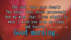 Good Morning Soulmate Quotes Best of 24 Charming Ways To Greet Good Morning To Your Soul Mate