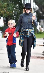 Chris Pratt S Wife Katherine Schwarzenegger Holds Hands With Actor S Seven Year Old Son Jack In La