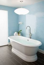 Light blue bathroom tiles Bathroom Design Light Blue Glass Tiles From Houzz Squeaky Clean 10 Stunning Modern Bathroom Tile Designs Pinterest Squeaky Clean 10 Stunning Modern Bathroom Tile Designs Remodel