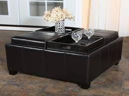 Attractive Storage Ottoman Coffee Table Coffee Table Storage Ottoman With  Tray Lovely Home Design