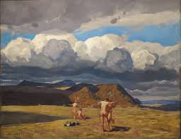 file men and mountains by rockwell kent columbus museum of art jpg