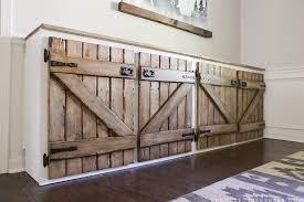 diy rustic cabinet doors for new ideas paneled doors pallet