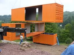 Container Home #ContainerCabins >> Visit us for more eco home design tips  at http://wiselygreen.com/10-diy-single-container-homes-and-cabins-from-a