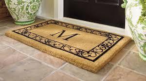 photo 1 of 8 monogrammed rugs outdoor nice look 1 door mats personalized u2022 shapely