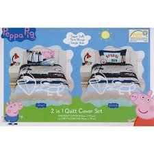 10 best Peppa Pig Bedding images on Pinterest | Piglets, Kidsroom ... & George Quilt Cover Set Adamdwight.com