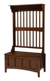 linon 84017walc 01 kd u hall tree with storage bench